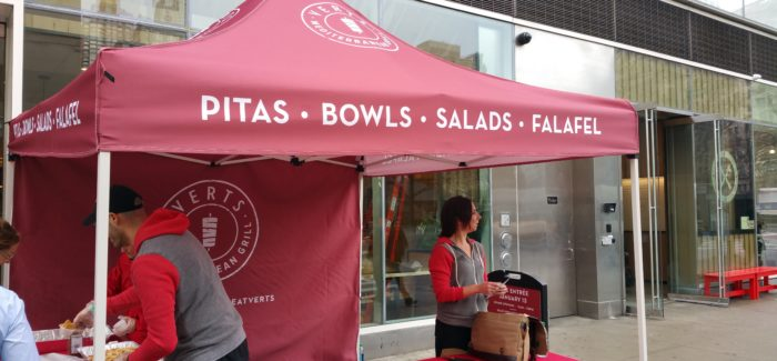 Flatiron Gets Another Mideast-Style Lunch Destination – Verts Mediterranean Grill