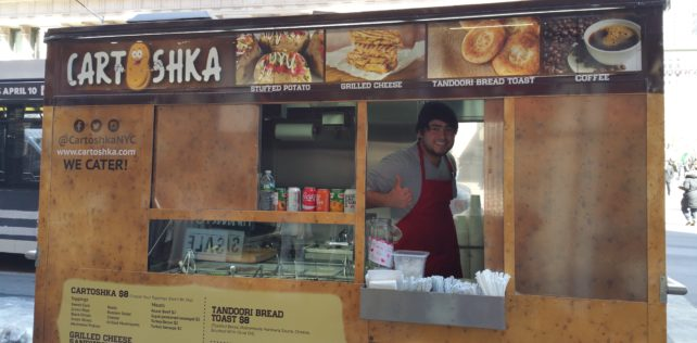 New Lunch Options on 23rd Street in Flatiron: Fields Good Chicken, Cartoshka