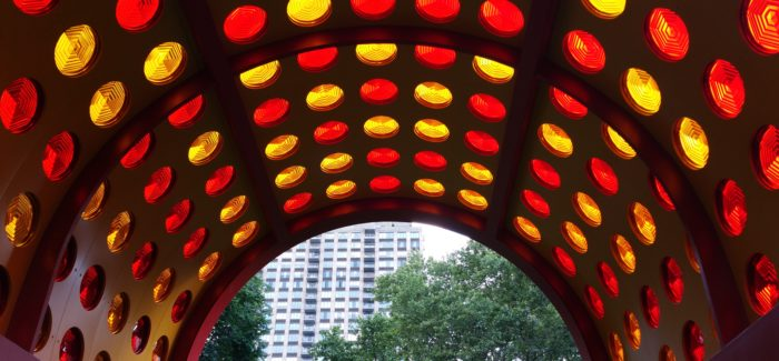 Prismatic Exhibition Rolls Out in Madison Square Park