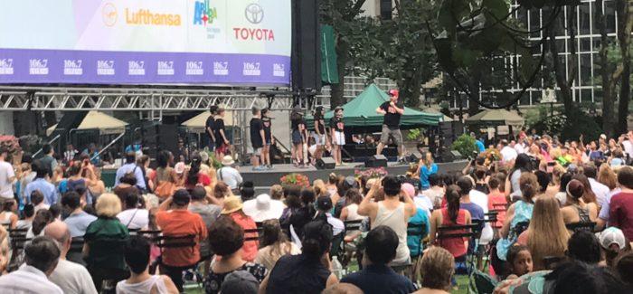 Broadway in Bryant Park: Week 2
