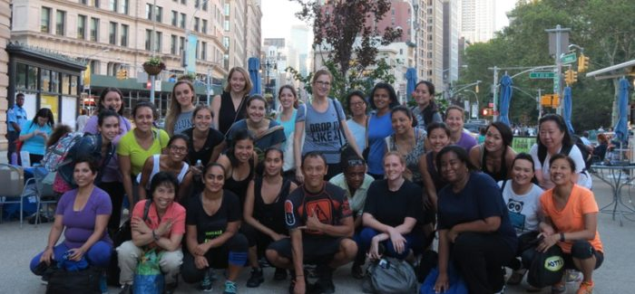 Wellness Wednesdays: Women's Jiu Jitsu Class in Flatiron Plaza