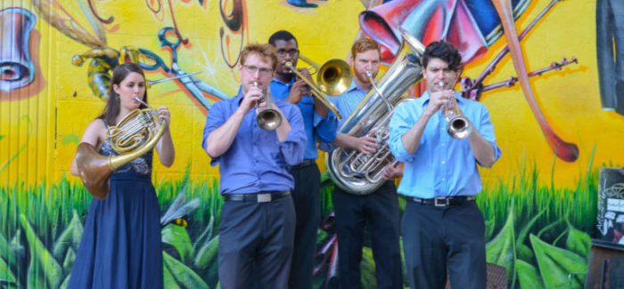 Above Ground Concert: The Affinity Brass Quartet in Madison Square Park