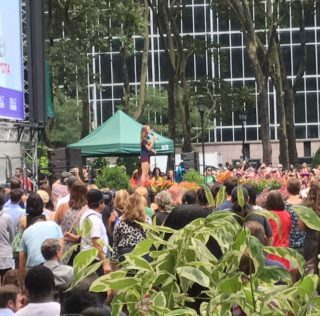 Broadway in Bryant Park: Week 6