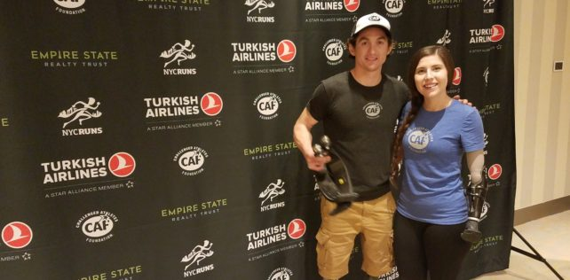 "Empire State Building 41st Annual ""Run-Up"" Event – ""Challenged"" Athletes Meet the Challenge!"